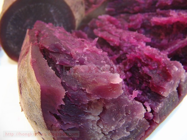 Braised Purple Sweet Potato