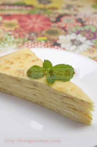 Mille Crepe Durian Cake