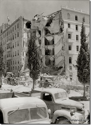 Attack on Hotel King David on Monday, July 22, 1946, mat12970
