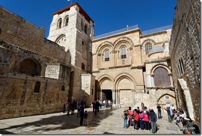 Holy Sepulcher facade, tb011610699