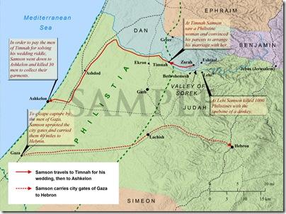 Samsons Exploits bible mapper sample