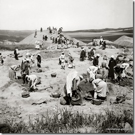 Beth Shemesh excavations, mat09121