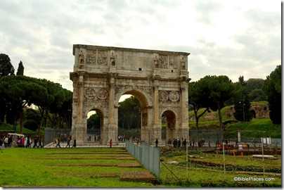 Arch of Constantine from east, tb112105093