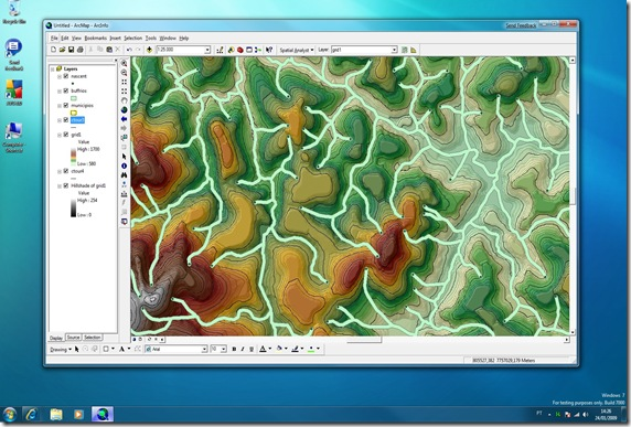 arcgis93nowindows7