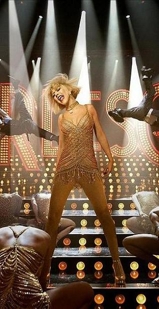 Burlesque, movie, still, poster, Christina Aguilera
