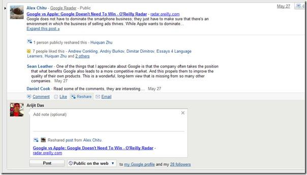 google-reshare