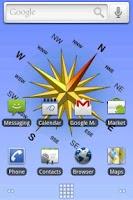Screenshot of Compass Live Wallpaper