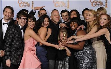 Glee Globo de Ouro