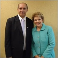 Toni Reis e Marta Suplicy