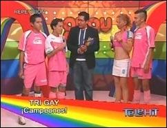 Jogadores do Tri Gay