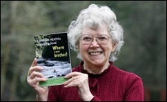 Publisher and author Eileen Mohr at her home in Berrow Green, Worcestershire. A small Christian group has provoked a storm of criticism by publishing a book which claims Jesus can -- ''CURE'' homosexuality. Controversial 'Where Is Your Brother?' tells the tale of a man who leaves his wife and kids for a male partner - only to have a religous revelation and reject homosexuality. The book, written by a Canadian author, is now due to hit shelves across the UK after a Christian literary firm decided to publish it and promote its message. Its members have caused a stir by claiming the book can help ''cure'' teenagers who have been ''mislead'' into homosexuality. See swns story SWJESUS 21 Feb 2011.