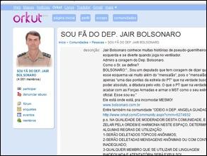 orkut comunidade Jair Bolsonaro