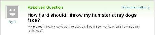best of yahoo answers