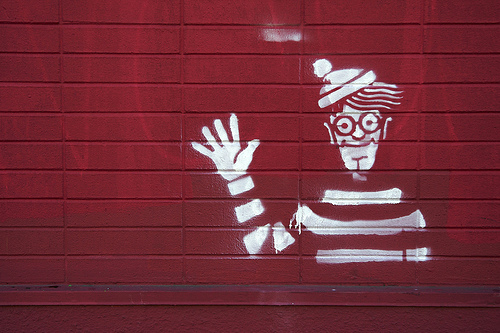 waldo graffiti art