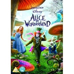 DVD Alice In Wonderland 2010