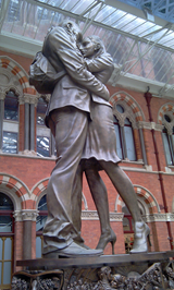 The Lovers - St Pancras International Station