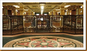 Pictures aboard the 'Queen Victoria'