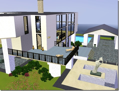 Screenshot sims 3 home architecture