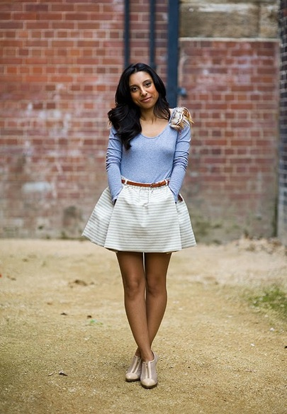 The fabulous Sadaf, Fashion Market Editor, Famous magazine (Australia)