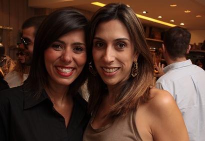 Clariana Gonzaga e Ana Luiza Favato