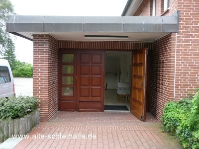 Abbruch und Neubau der Neuapostolischen Kirche Schleswig