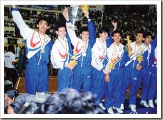 juara Piala Thomas 1992