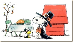 Snoopy-Woodstock-Thanksgiving-Dinner