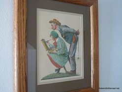 Norman Rockwell for a wedding present 2