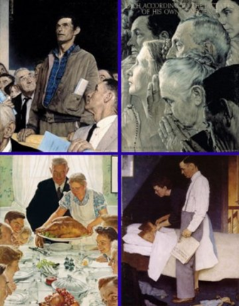 Norman Rockwell the four freedoms