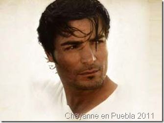 Chayanne en Puebla 2011