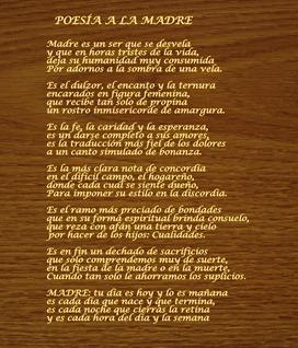 Poesia a la Madre