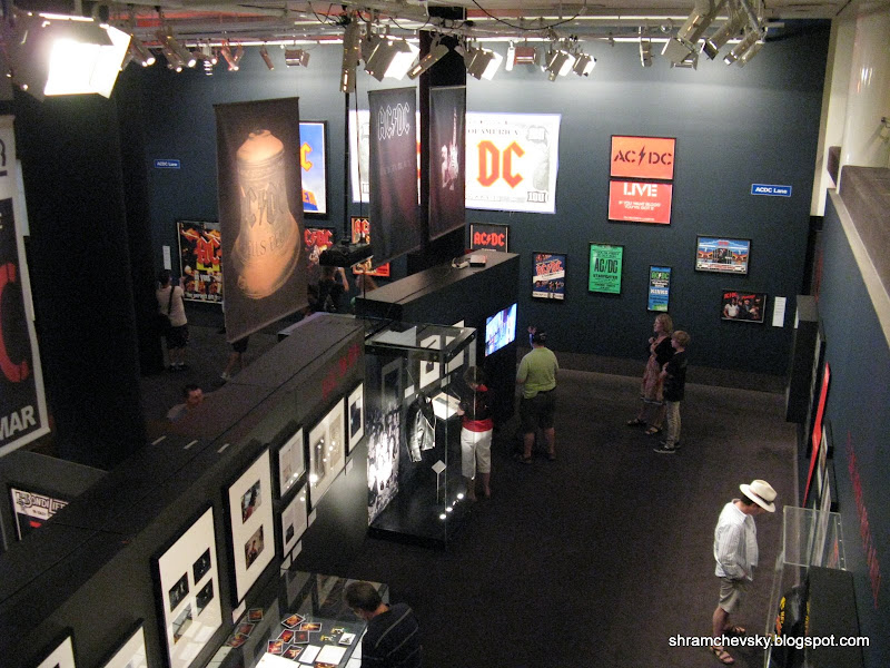 AC DC Australia's Family Jewels Exhibition Melbourne Art Centre Австралия Центр Искусства Выставка ЭйСиДиСи