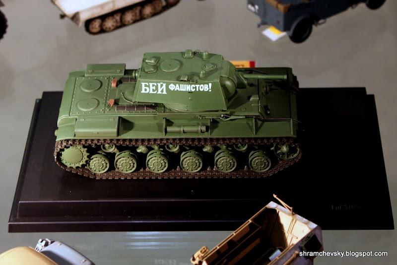 КВ-1 Советский Танк Модель Клим Ворошилов KV-1 Soviet Tank