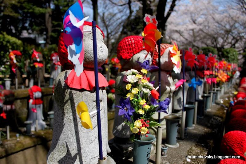 Токио Минато Шибакоен Буддизм Зожожи Каменные фигурки