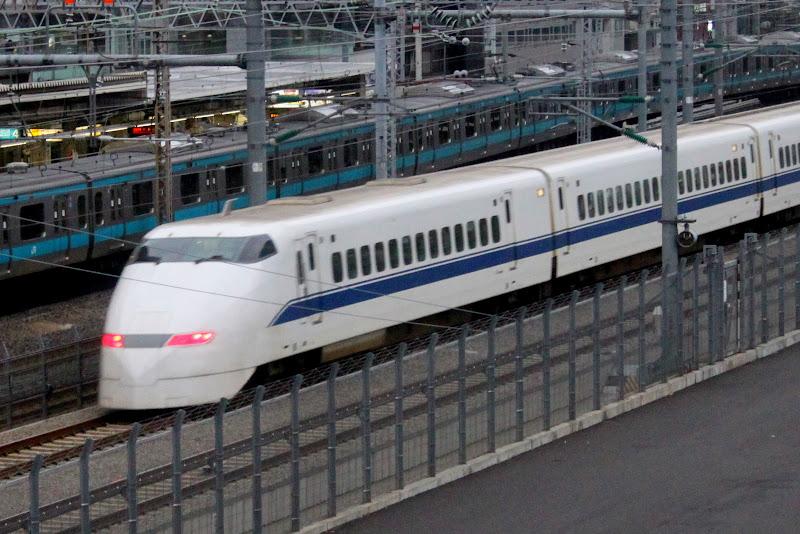 Япония Токио Синкансен Шинкансен Серия 500 Japan Tokyo Shinkansen 500 series