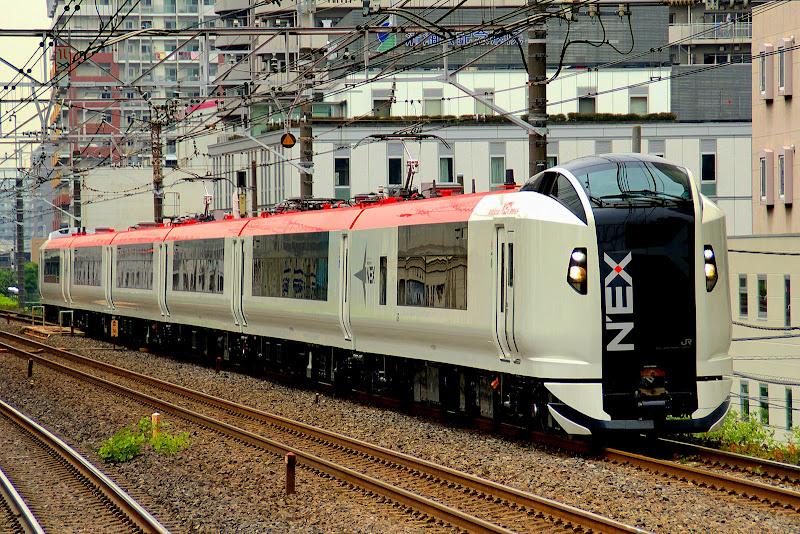 Japan Tokyo Narita Express Япония Токио Нарита Экспресс
