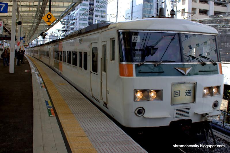 Japan Tokyo Train Япония Токио Поезда