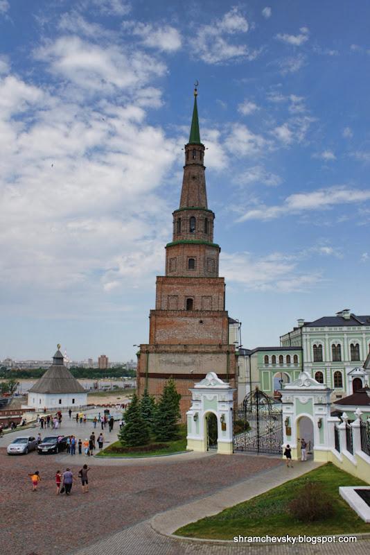 Russia Tatarstan Kazan Kremlin Söyembikä Tower Россия Татарстан Казань Кремль Башня Сююмбике