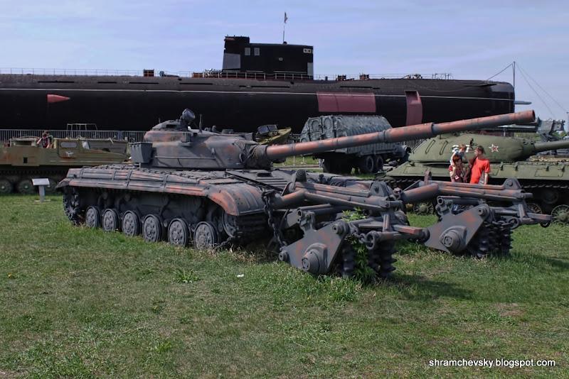 Russian Soviet Tank T-64 T64 Русский Советский Танк Т-64 Т64 Технический Музей Тольятти