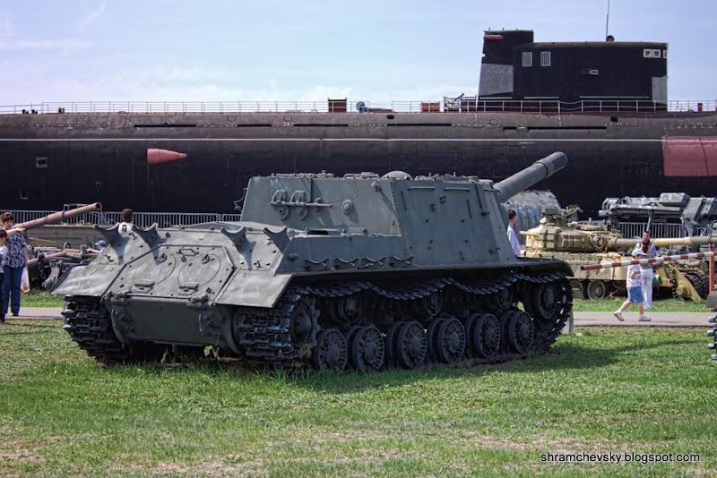 Russian Soviet SU-152 Русская Советская СУ-152 Технический Музей Тольятти