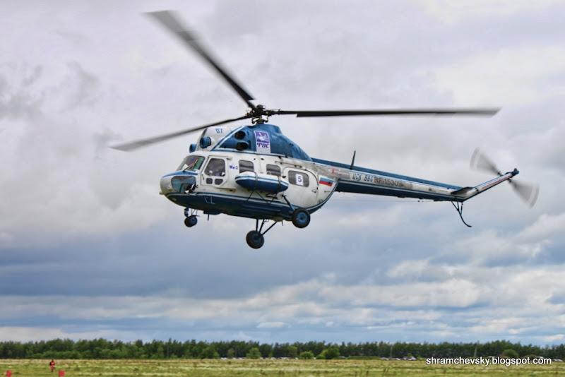 Миль Ми-2 Вертолетный Спорт Сызрань Троекуровка Аэродром СВВАУЛ