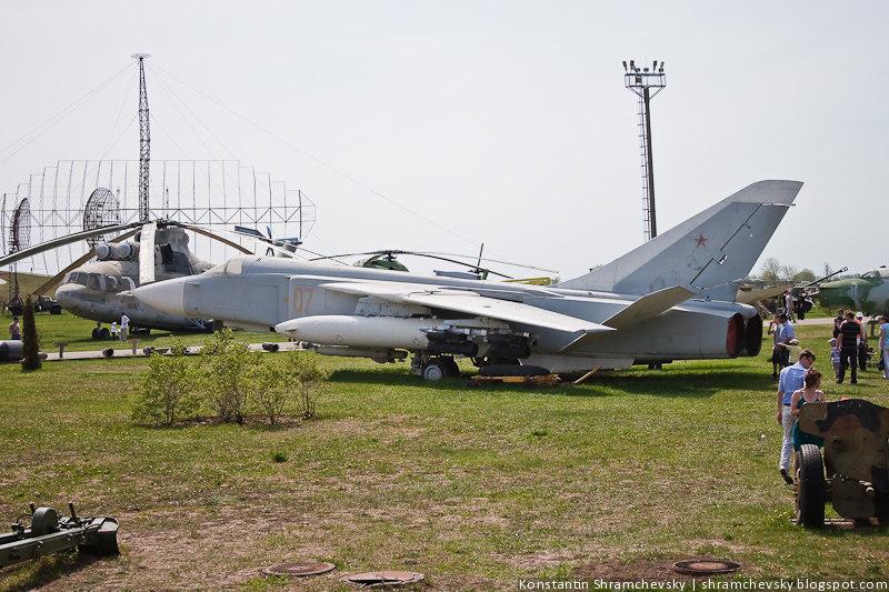 Су-24 Изменяемая стреловидность крыла Технический Музей Тольятти