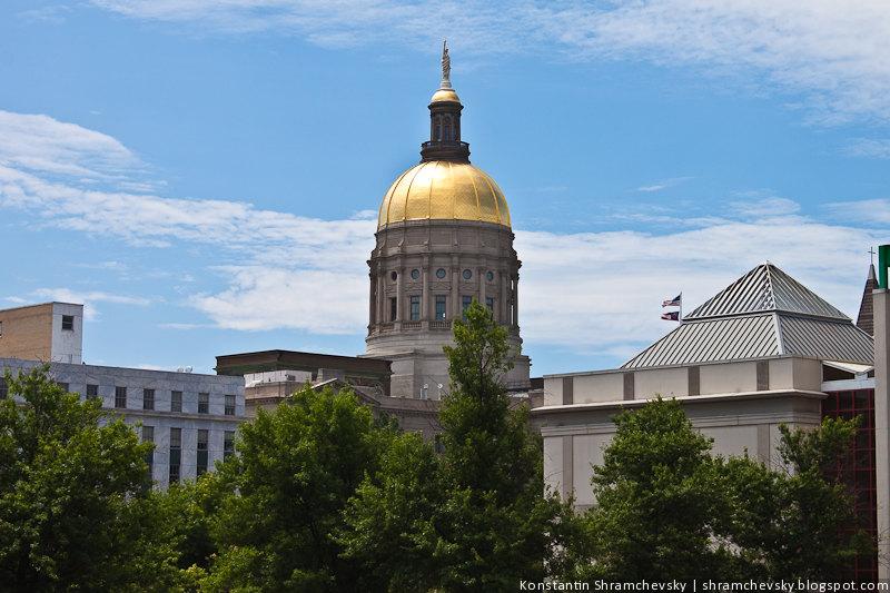 США Атланта Капитолий Штата Джорджия