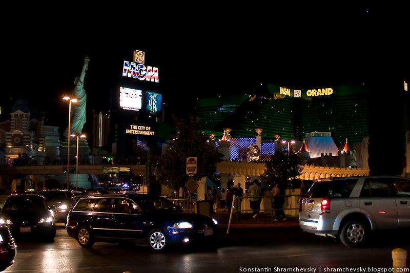США Америка Лас Вегас Казино Отель MGM Grand