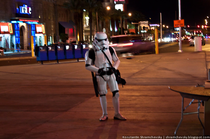 США Америка Лас Вегас Казино Звездные Войны Имперский Штурмовик