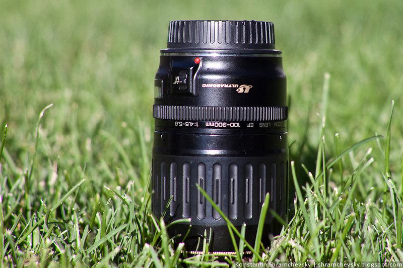 Объектив Canon EF 100-300 USM