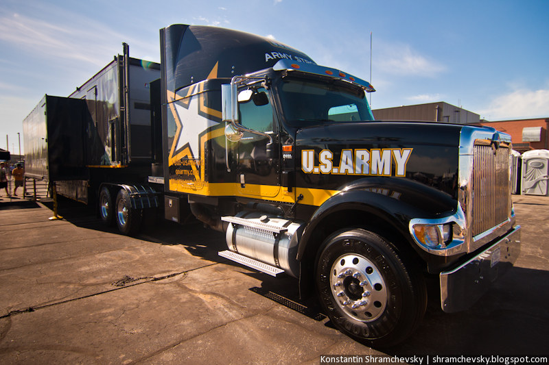 USA US Army Truck Recruit США Армия Грузовик Агитация Призыв