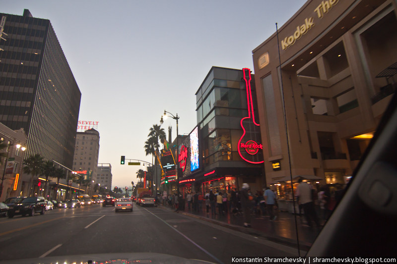 USA California Los Angeles Hollywood Boulevard США Калифорния Лос Анджелес Голливуд Бульвар Аллея Звёзд