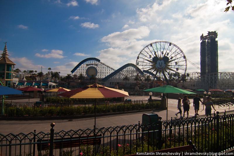 USA California Disneyland Anaheim Adventure Park California Adventure США Калифорния Диснейленд Анахайм Парк Калифорния Адвенча