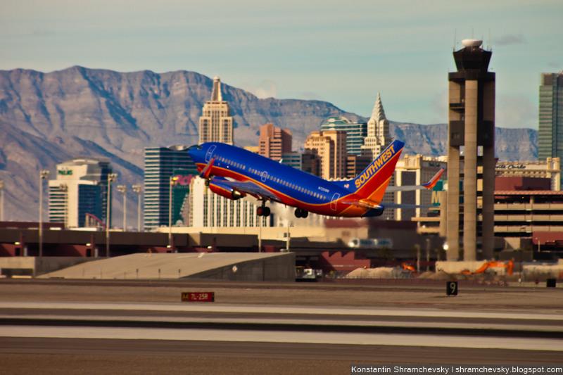 USA Nevada Las Vegas McCarran International Airport New York New York Southwest airlines Boeing 737 США Невада Лас Вегас Международный Аэропорт МакКарран Нью Йорк Нью Йорк Боинг 737 Саусвест Эйрлайнз